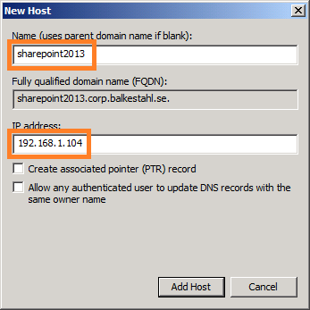 The first Kerberos guide for SharePoint 2013 technicians