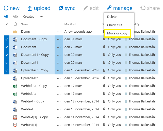 Sharepoint online: download a file from library using powershell.